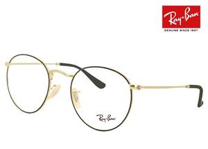 レイバン 眼鏡 rx3447v 2991 50mm メガネ Ray-Ban ラウンド 型 丸メガネ フレーム Round Metal メンズ レディース RX 3447 V rb3447v