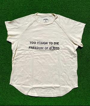 Cutoff Raglan T-Shirts (BN/BK/RD)