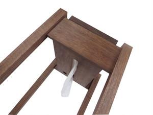 tissue holder|w/trash box