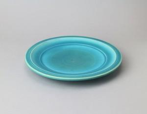 トルコ釉のパン皿 | 環窯