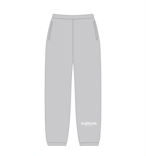 EURROPA LOGO SWEAT PANTS(Gray)