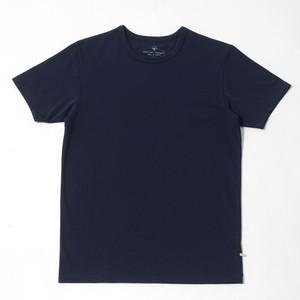 atelier comopti 究極のTシャツ ノーブルネイビー ステラ・コンフリクト天竺