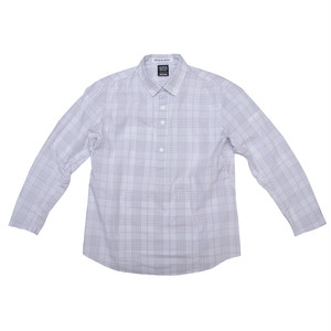 100A PULLOVER  PLAID SHIRT