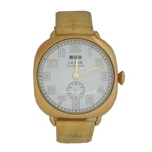 LAMERCOLLECTIONS ラメールコレクション 腕時計 Oversize vintage watch camel gold おしゃれ レディース ブランド 保障切れ