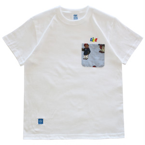 CANDY TYPE-1 LOGO POCKET Tee (LO LIFE) / LIFEdsgn