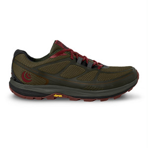 TOPO Athletic(トポアスレチック) Women's TerraVenture2 Olive/Raisin 5002042