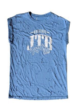 【JTB】 DAMEGE タンクトップ【ライトブルー】【再入荷】イタリアンウェア【送料無料】《M&W》