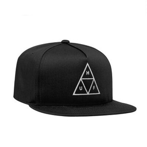 HUF : ESSENTIALS TT SNAPBACK HAT / BLK
