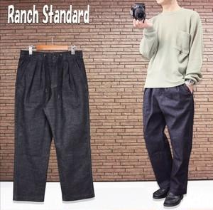 Ranch Standard《ストレッチデニム2タックフレンチトラウザー》2色★