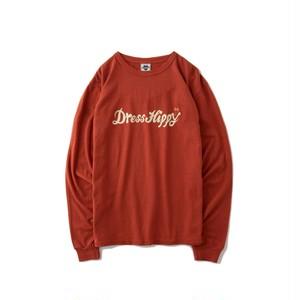 DRESS HIPPY(ドレスヒッピー) / DRESS HIPPY L/S TEE (RED)
