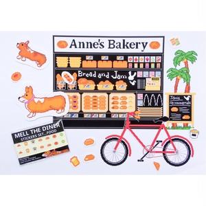 スケジュールシール Anne's Bakery パンの柄