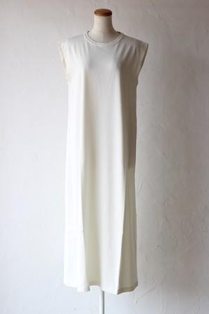 【cantáte】sleeveless dress-off white