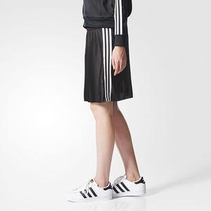 (アディダス オリジナルス) adidas Originals BR4585 WOMEN 3 STRIPES SKIRT スリーストライプスカート BLACK