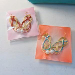 水引 piece/earring