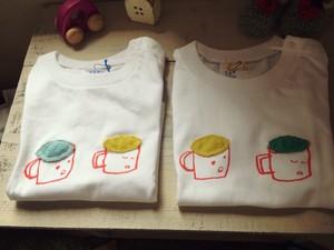 ▷sale▷織り刺繍がかわいい仲良しコップくんのキッズTシャツ 90 110
