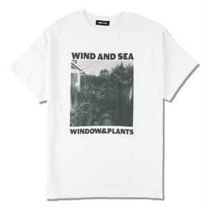 WDS (W&P) PHOTO T-SHIRT (WDS-20A-CS-08) WIND AND SEA WHITE