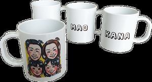 ポリマーマグカップ