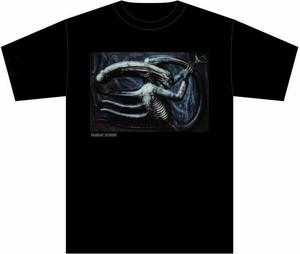 HR・ギーガー財団公認 Necronom IV Tシャツ