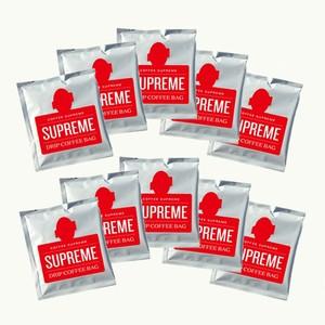 <SUPREME BLEND> ドリップバッグお得10袋セット