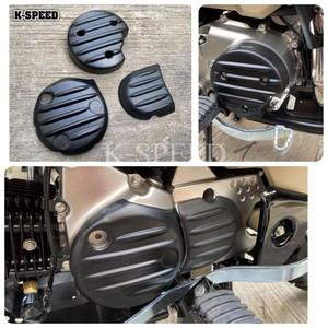 【CT022】Black Diablo engine cover for Honda CT125 Abs plastic work