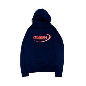 【FAN別注】Logo Hoodie NAVY -dilemma-