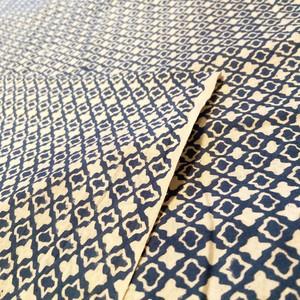 ブロックプリント生地 |Sanganerblue Fabric