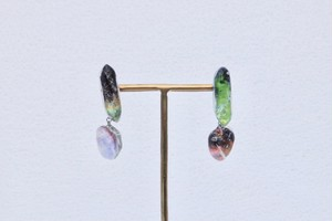 【受注生産 made to order】 E.宇宙の気品 Elegance of the universe / Pierced earrings only  ピアスのみ