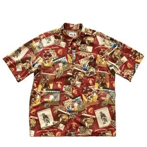 USEDアロハシャツ レインスプーナー / size L