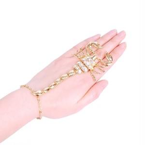 黄金の蠍☆リング&ブレスレット サイズフリー