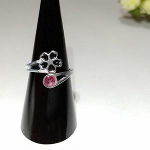 【桜◇オーバーラップリング】 指を細く魅せる / プレゼントとしてもおしゃれ