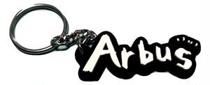 ラバーキーホルダー ロゴ