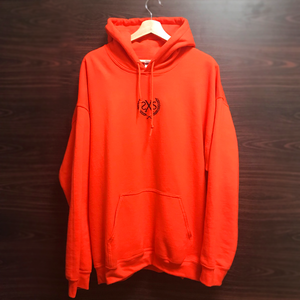 2500円OFF!!!【6SENSE】 Hoodie -SXS-(ORANGE , BLACK)