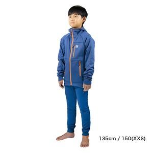 Kids / UN3100 Mid weight fleece hoody / Navy