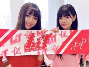 LiveMe発!アイドルグループLiTマフラータオル《チェキ付き♪》