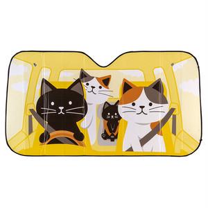 猫カーサンシェード(ドライブねこ)
