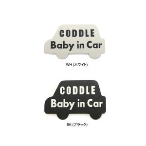 CODDLEKIDSマグネット Baby in car