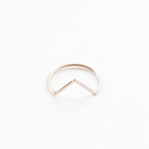 【SPECIAL  SALE!】 ANOTHER FEATHER / DART RING GOLD