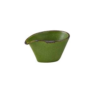 「翠 Sui」片口小鉢 幅約10cm うぐいす 美濃焼 288056