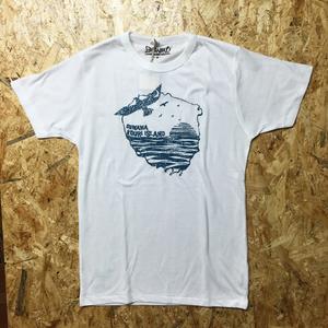 YOSHIKAオリジナル 古宇利島Tシャツ ホワイト