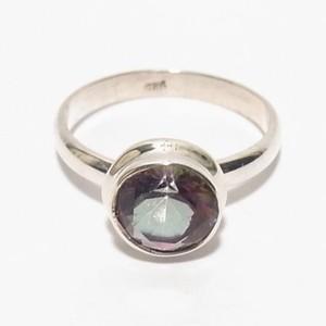 天然石シルバーリング ミスティックトパーズの指輪 size12.5 シルバーリングのセール通販 4902SR