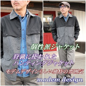 modemdesign モデムデザイン メンズ ジャケット ハンティングジャケット 送料無料 狩猟ジャケット M1603360 アウター