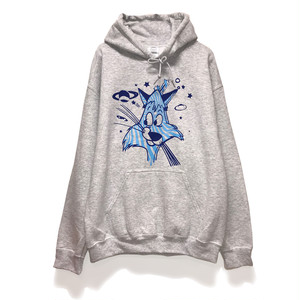 """SIXSENSE """"EASG"""" face  HOODIE M"""