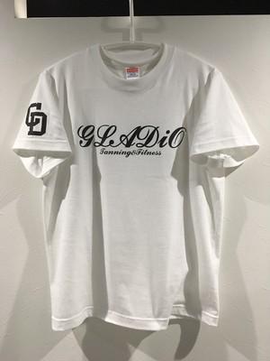GLADiO オリジナルTシャツ WHITE