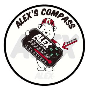 """ ALEX's COMPASS """