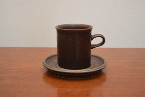アラビアルスカコーヒーカップ&ソーサー①【ARABIA/Ruska】北欧 食器・雑貨 ヴィンテージ | ALKU