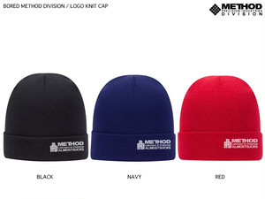 METHOD / LOGO KNIT CAP 先行受注分
