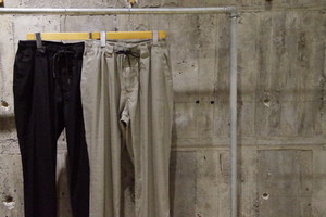 LiSS Stretch linen easy pants