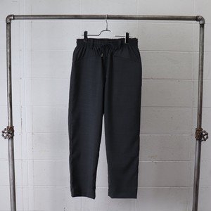 【Manual Alphabet】 SOLOTEX TROPICAL EASY TROUSERS (CHARCOAL) マニュアルアルファベット ソロテックス イージー トラウザーズ  日本製 MADE IN JAPAN