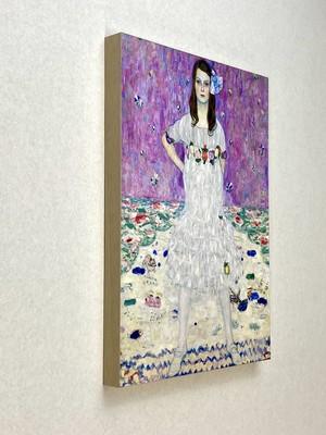 素敵なアートパネル A4サイズ プリマヴェージの肖像 グスタフ・クリムト