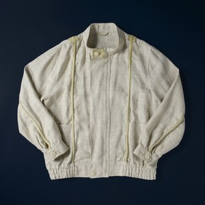 80's Italy stand collar blouson